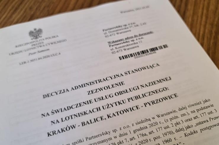 Read more about the article Zezwolenie od Urzędu Lotnictwa